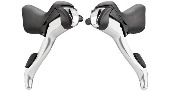 Shimano Tiagra ST-4600/ST-4603 Schalt-/Bremshebel-Set 3x10-fach schwarz/silber
